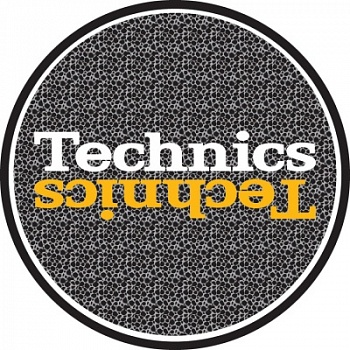 Magma LP-Slipmat Technics 'Safari' black/grey/yellow (Пара)