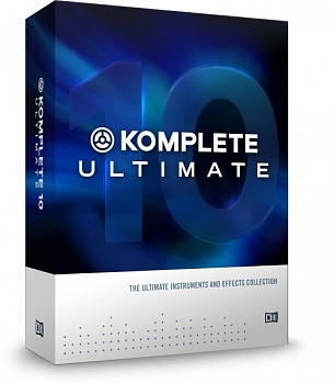 Native Instruments Komplete 10 Ultimate CRG