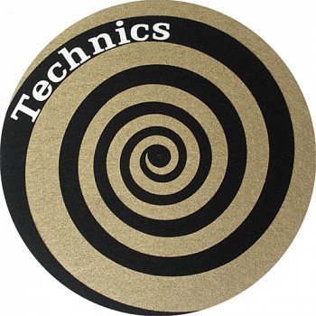 Slipmat-Factory TECHNICS Spiral Golden (Пара)