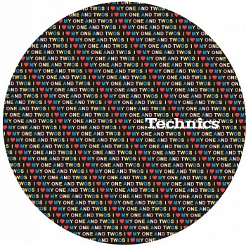 Magma LP-Slipmat Technics 'one and two love' (Пара)
